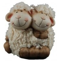 Furry Twin Sheep