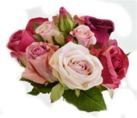 Deluxe Rose Bouquet Three Toned Pink