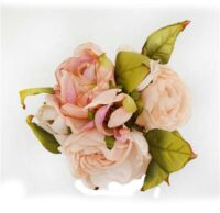 Dry Look Rose Bouquet CreamPink