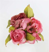 Dry Look Rose Bouquet Dusty Pink