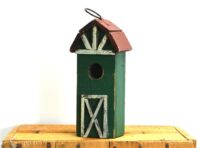 Bird House Green 20cm