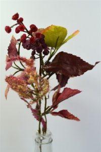 Rosehip/Pokeberry Pick Burgundy