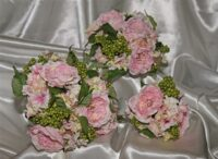 Angel Rose, Hydrangea & Berry Bouquet
