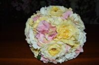 Shades Of Lemon Ranunculi, Rose & Hydrangea Wedding Posy