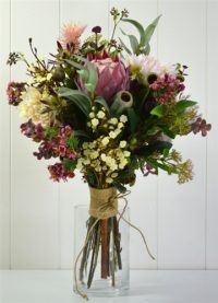 Native Wildflower Bouquet- Pink Tones