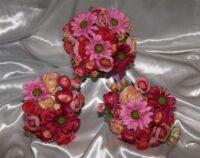Hot Pink Gerbera & Ranunculi Brides posy