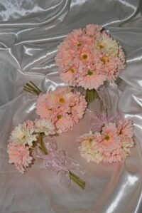 Premium Soft Pink Gerbera Wedding Posy