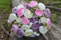 Ranunculus Mauve, Pink & Purple Wedding Posy