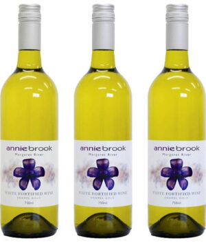 White fortified wine
