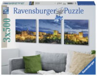 Ravensburger - 3 x Alhambra at Twilight