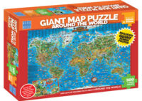 Blue Opal - Around the World Giant Map