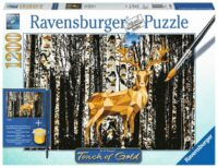 Ravensburger - Touch of Gold - Deer in Birch Forest