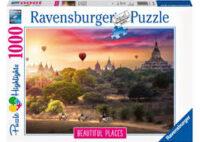 Ravensburger - Beautiful Places - Hot Air Balloons over Myanmar