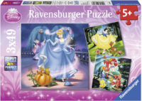 Ravensburger - Disney - Snow White, Cinderella, Ariel