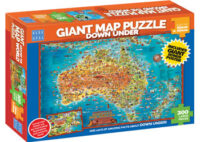 Blue Opal - Down Under Giant Map